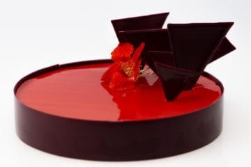 Покрытие для кондитерских изделий Даймонд Глейз Красный гибискус