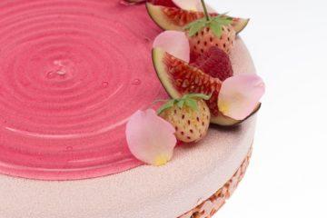 Покрытие для кондитерских изделий Даймонд Глейз Розовая роза